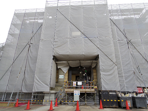 なら仏像館 保存修理工事現場 特別見学会-03
