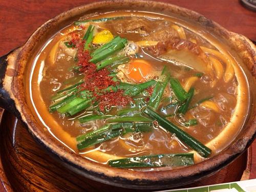 関西で味噌煮込みうどん!『きしめんあまの』@大阪梅田