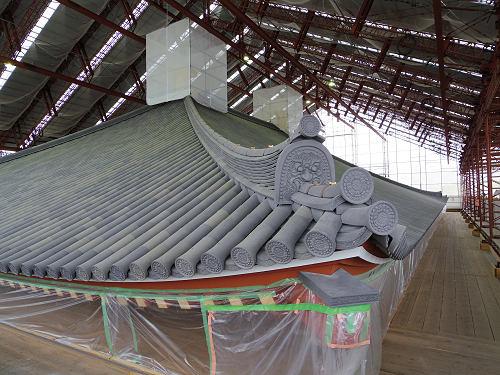 興福寺『中金堂再建現場』特別公開を拝見してきました