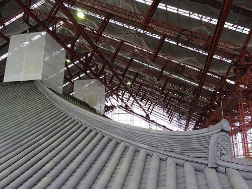 興福寺 特別公開2015 中金堂再建現場-15