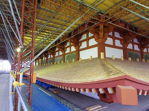 興福寺 特別公開2015 中金堂再建現場-28