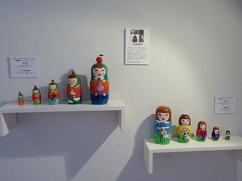 楽しい『奈良マトリョーシカ展』@ギャルリ・サンク(奈良市)
