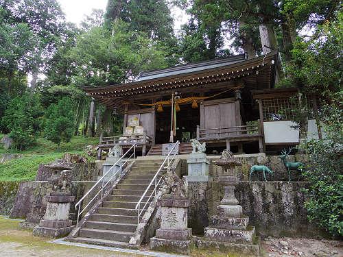 獅子舞が有名な古社『門僕神社』と2本の「沈下橋」@曽爾村