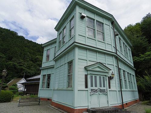 築百年を超えた洋風近代建築『黒滝村民俗資料館』@黒滝村