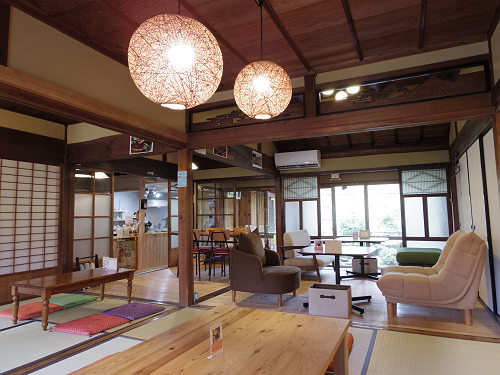 法隆寺近くの素敵な古民家カフェ『CAFE・鍼灸 ZADAN』@斑鳩町
