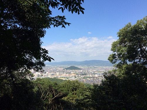 スロージョグで『大和三山』を制覇(距離約17km)@藤原宮跡