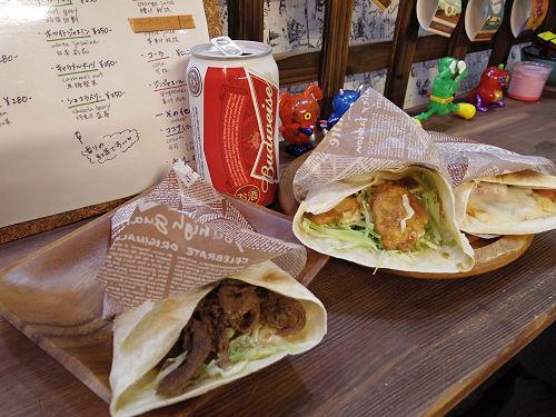 食べ歩けるスティックトルティーヤ『cafe y'sk』@奈良市