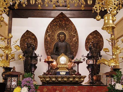 平安時代の阿弥陀仏がおわす『西方寺』@奈良市油阪町