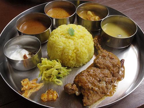 辛い!でも美味い!南インド系辛口カリー『タリカロ』@奈良市