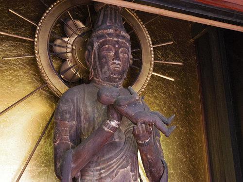 中将姫が育った地に建つ、子安観音のお寺『徳融寺』@奈良市