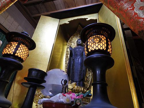 美しい阿弥陀像と毘沙門天像がおわす『法徳寺』@奈良市