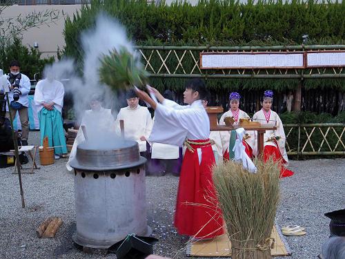 春日若宮おん祭の始まりを告げる『大宿所祭』@大宿所