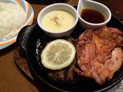 ご飯カレーおかわり自由のハンバーグ店『ロマン亭』@イオンモール橿原