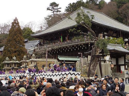 節分に「豆まき」のはしご!『東大寺二月堂』と『元興寺』
