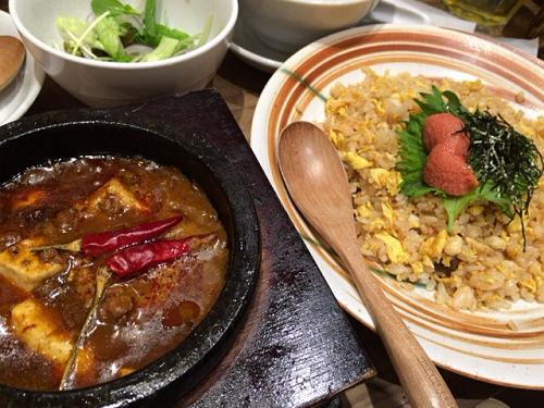 本格派の麻婆豆腐!『ロンフーダイニング』@イオンモール橿原店