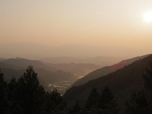 棚田・古墳・宮跡。飛鳥~橿原で夕陽を見てきました