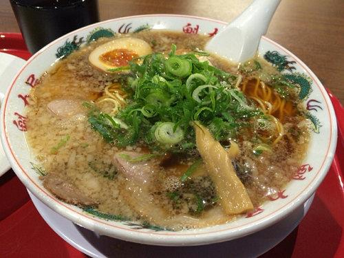背脂醤油の京都系『ラーメン魁力屋』@イオンモール橿原店