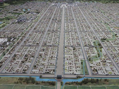 8.3m×6.4mの巨大ジオラマ!『平城宮跡復元模型』@奈良市役所