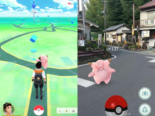 お散歩のお供に『Pokemon GO』を! @明日香村