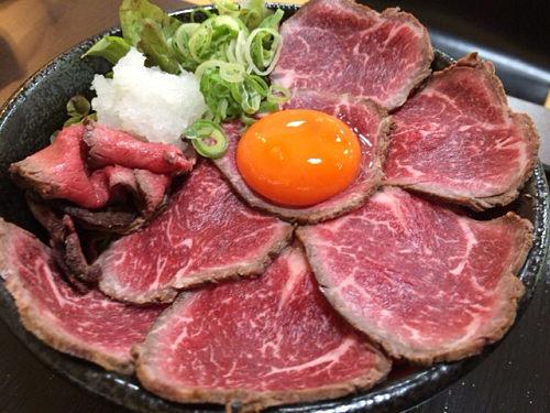 大阪で行列ができるローストビーフ丼『肉タレ屋』@広陵町