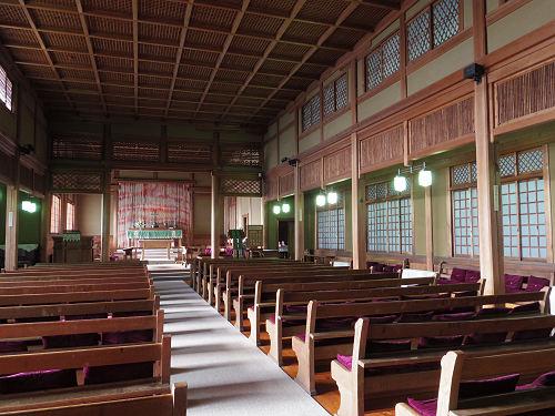 国重文!和風の教会建築『日本聖公会奈良基督教会』@奈良市