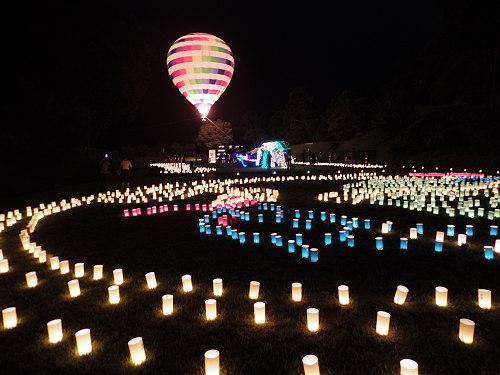 気球も飛びます!『飛鳥光の回廊 2016 ~四神降臨~』@明日香村
