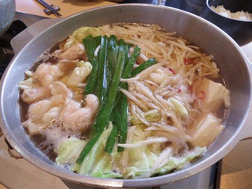 プルプル美味しい「もつ鍋」ランチ!『真心』@広陵町