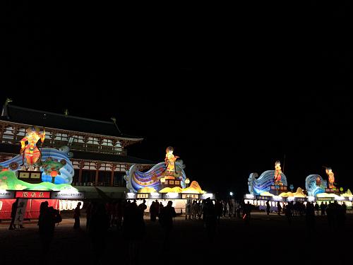 迫力のステージ!『奈良大立山まつり』@平城宮跡