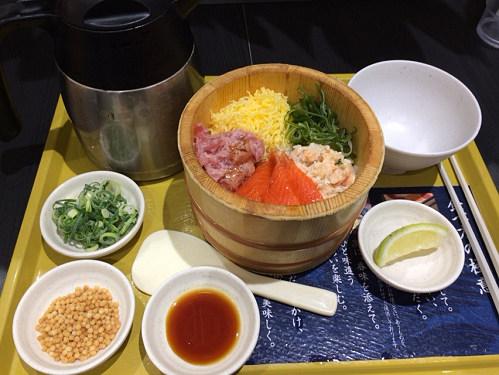 海鮮丼だし茶漬け『おひつごはん四六時中』@イオンモール大和郡山