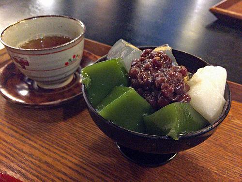 奈良町の和菓子店で甘味!『中西与三郎 茶房 六坊庵』