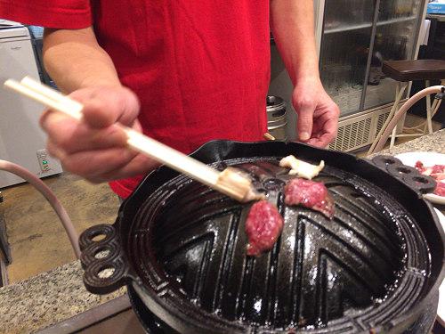絶品!『岩塩で食べる新鮮ホルモン 八丁堂』@奈良市