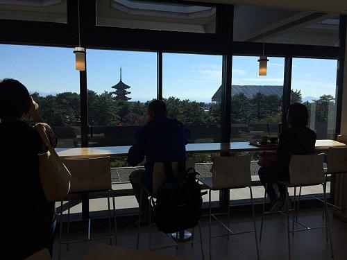 誰でも利用可!奈良公園を見晴らせる『奈良県庁食堂』@奈良市
