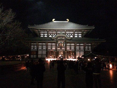2018年の初詣は『東大寺』へ。大仏殿の観相窓も開いてました