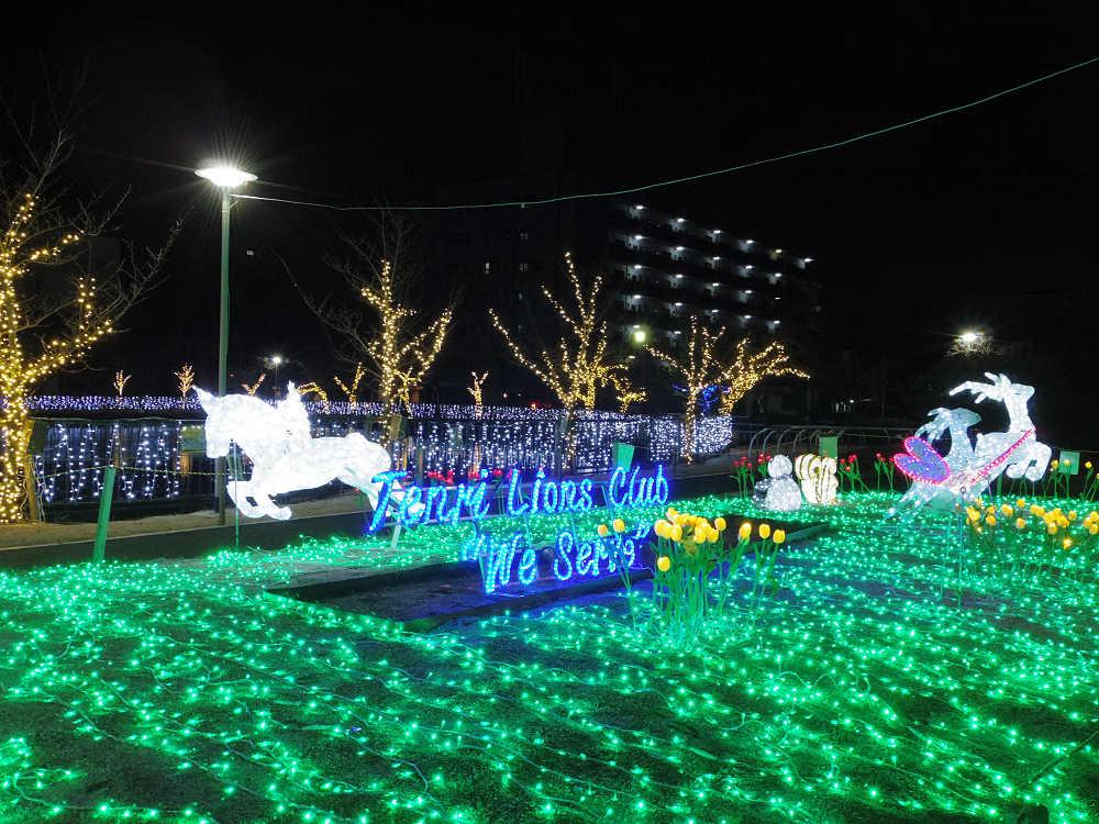 県下最大級!26万球のイルミネーションが煌めく『天理市 光の祭典』