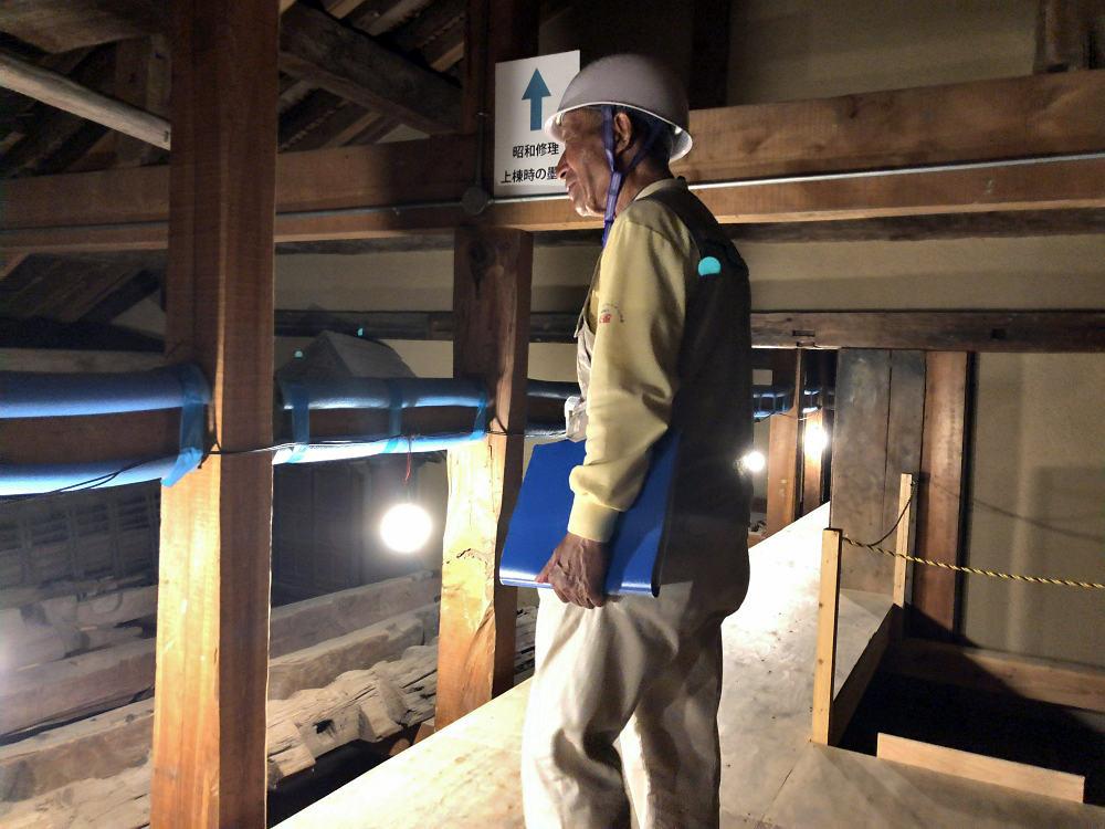 元興寺創建1300年記念『国宝禅室 屋根裏探検』参加しました