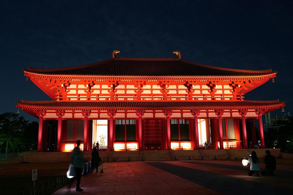 落慶記念!『興福寺中金堂』夜間特別拝観&ライトアップ