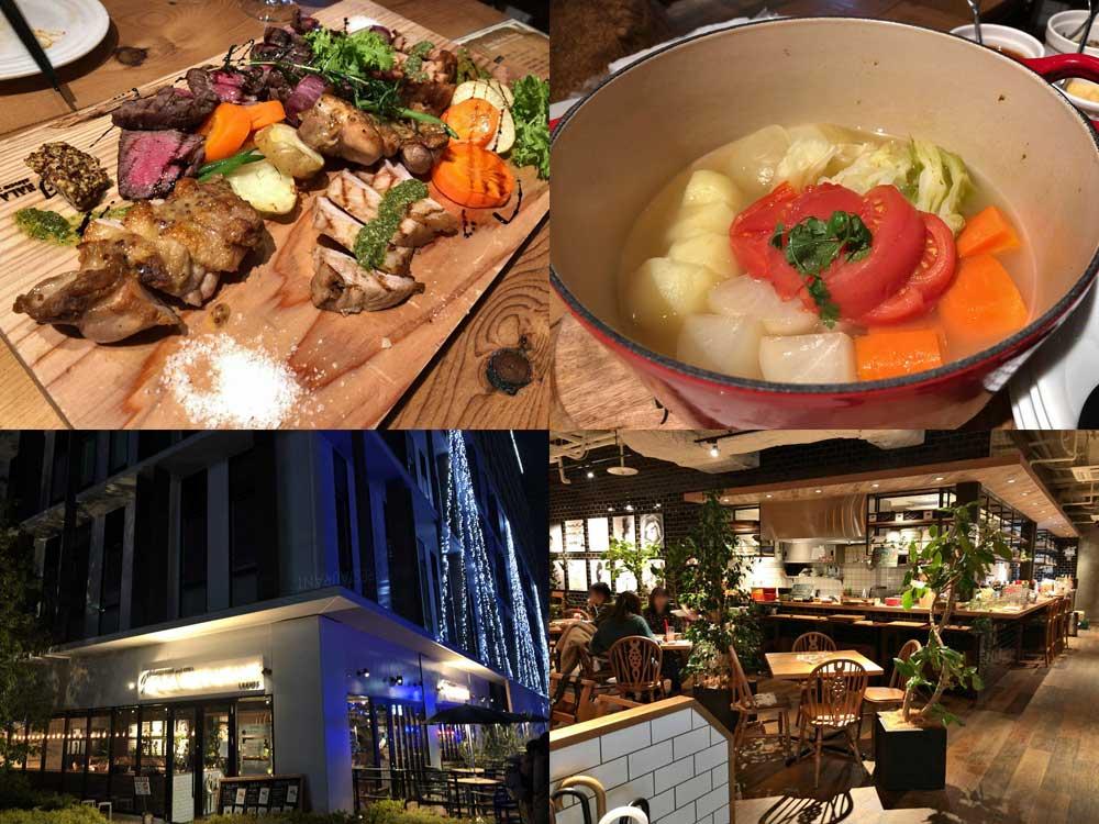 お肉が美味!『Farmers CAFE and GRILL「奈良食堂」-leaves-』@橿原市