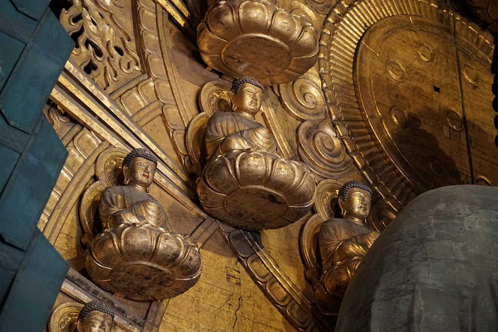 【写真】『東大寺大仏殿』の細部にこだわって拝観しました