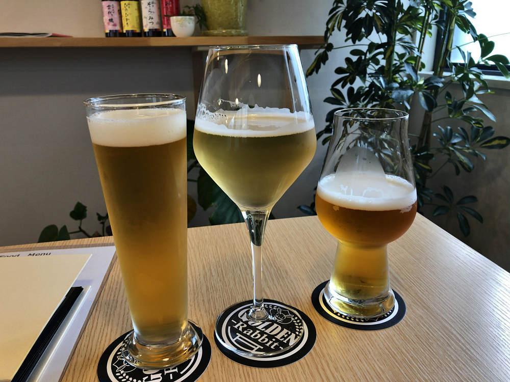 新鮮で美味!『ゴールデンラビットビール』本店タップルーム@奈良市