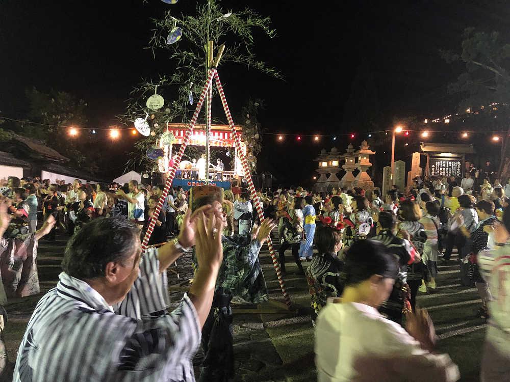 誰でも参加可!楽しい『十七夜盆踊り』@東大寺二月堂(奈良市)