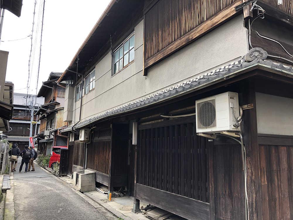 元遊郭建築『旧山中楼』取り壊し前の一般公開 @大和郡山市