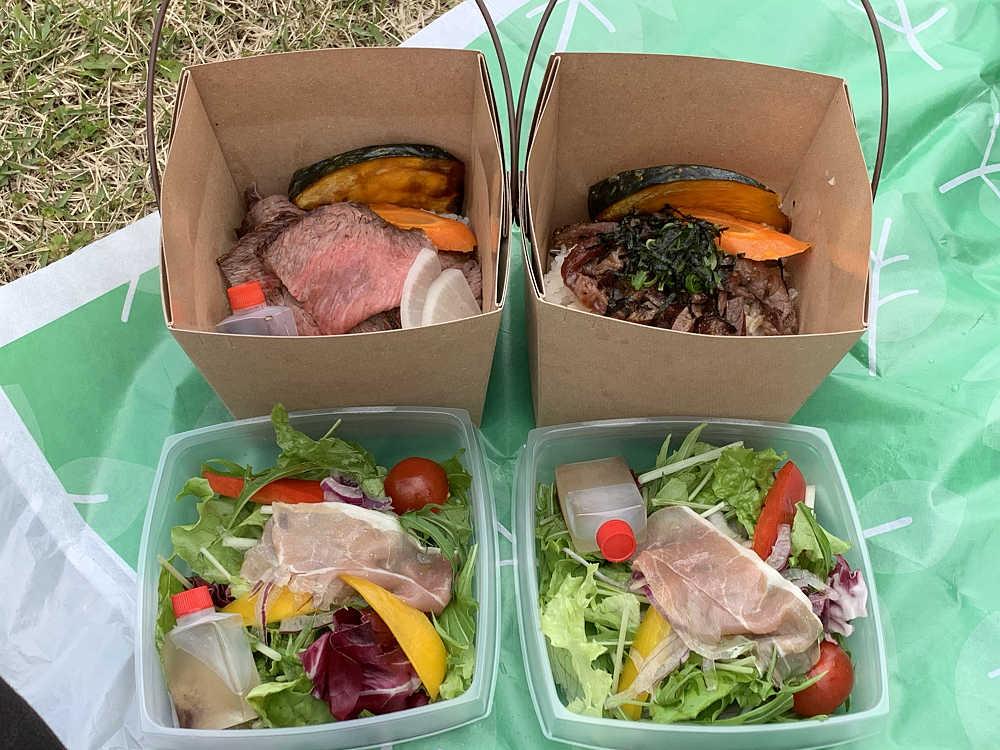絶品の丼BOXをテイクアウト『洋風家庭料理ニュールーシー』@橿原市