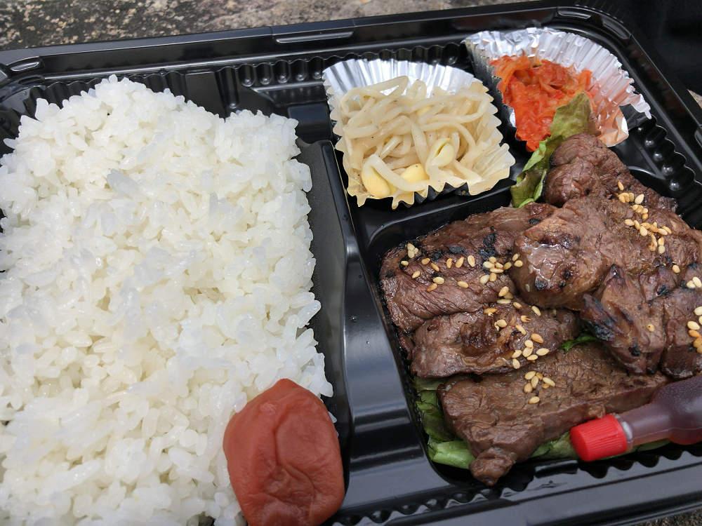 豪華な焼肉弁当をテイクアウト『炭火焼肉 食神苑 広陵店』@広陵町