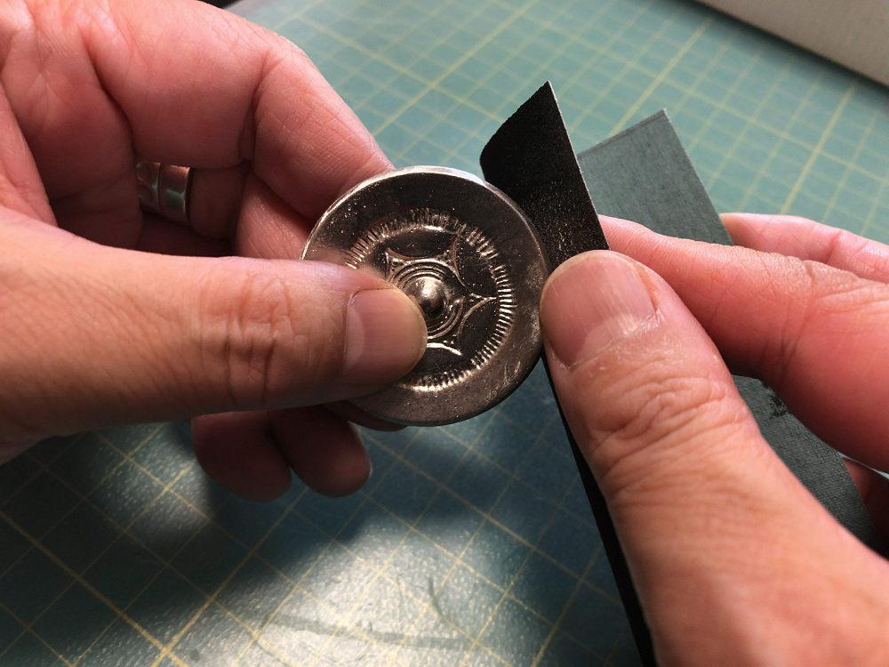 桜井市立埋蔵文化財センター『内行花文鏡研磨セット』を磨きました