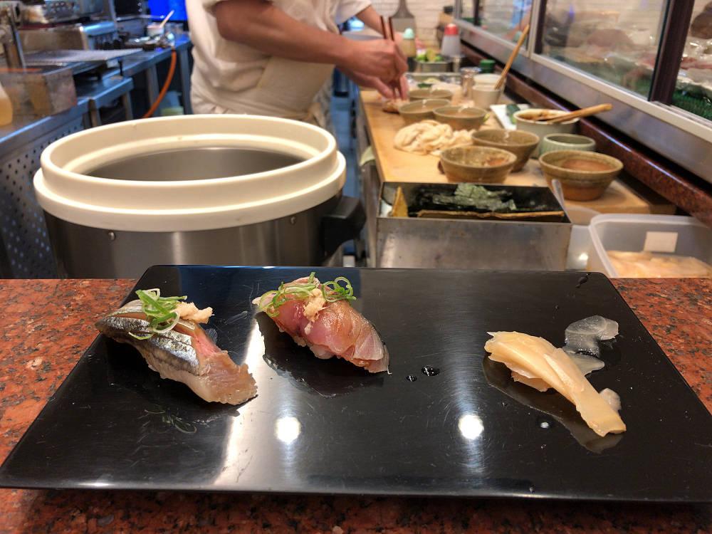 新鮮な魚料理が絶品のお寿司屋さん『鮓 かしな』@香芝市