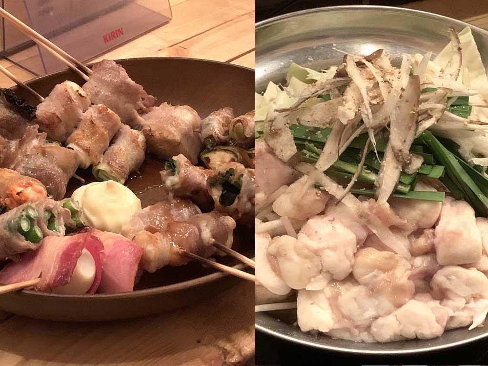 野菜肉巻き&博多もつ鍋の『金太郎 五位堂駅前店』@香芝市