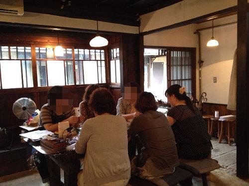 ワークショップ【革で作るミニバッグ型チャーム】終了-06