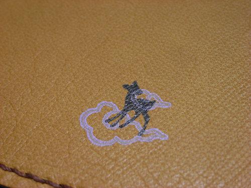 『奈良旅手帖2013』で「鹿野堂の馬革カバー」製作します-07