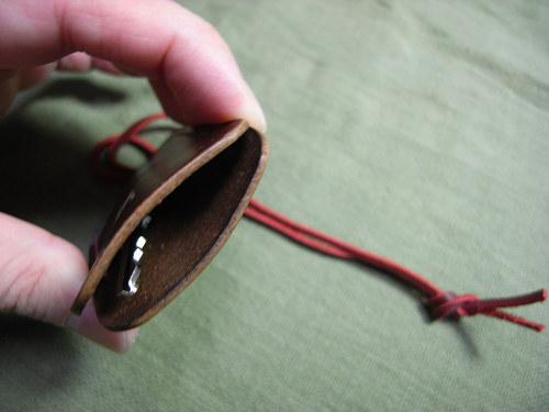 【鹿野堂】鍵1本の全体を包む『ネックレス鍵カバー』-08