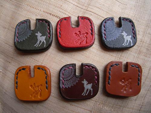 【鹿野堂】鍵に被せて楽しい『シカ鍵カバー』